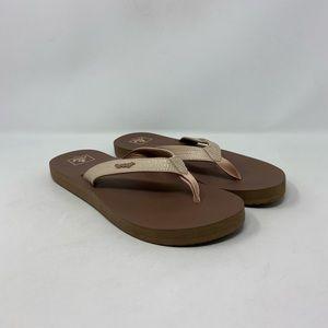 Reef Comfort Flip Flop Sandals Womens Size 11